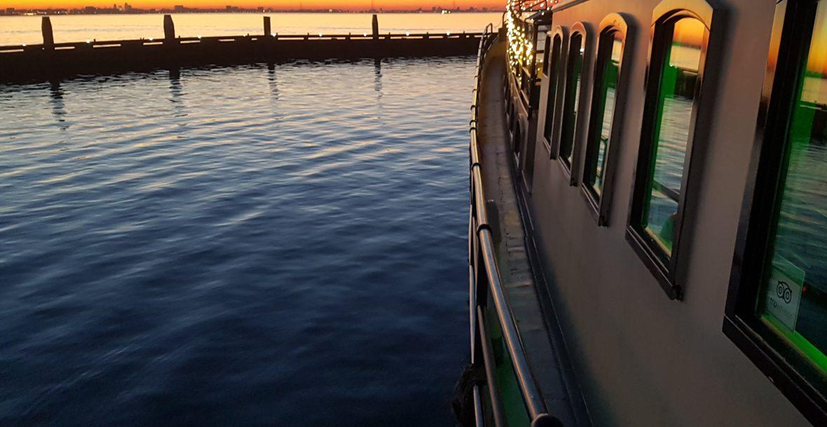 partyschip sailboa feest op een boot