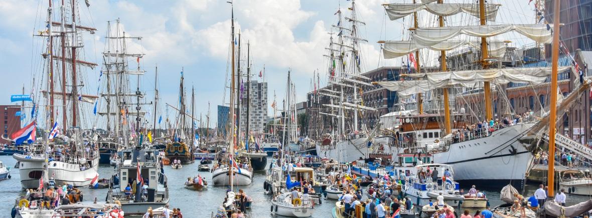 Evenement Sail 2020 Rederij Navigo varen in het IJ