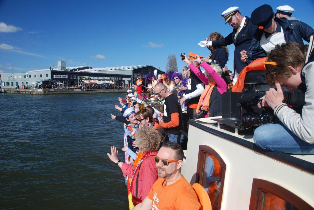 Jouw evenement aan boord van de Sailboa die vaart Rederij Navigo Amsterdam