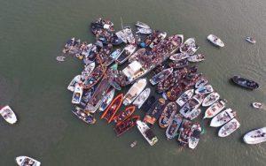 Evenement Fokdag boten bij elkaar feest Rederij Navigo