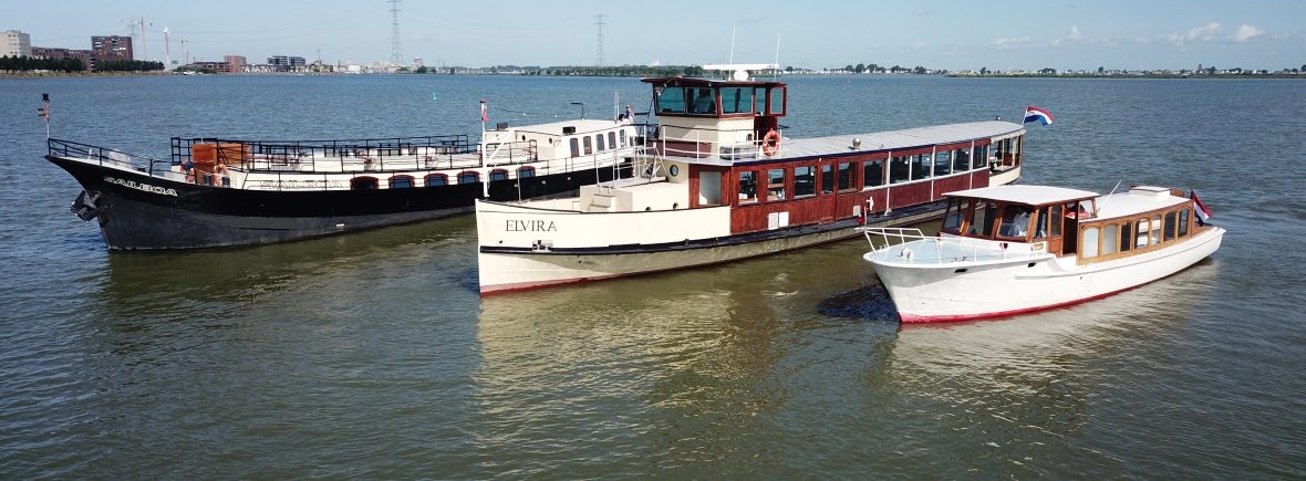 Rederij Navigo vloot de Sailboa de Elvira en de Amber